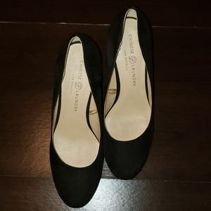 Chinese Laundry Black Heels -9.5M